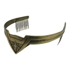 This sturdy, movie-accurate Wonder Woman Tiara is the perfect consumer grade reproduction of Wonder Woman's sacred headpiece managing her divine mane!