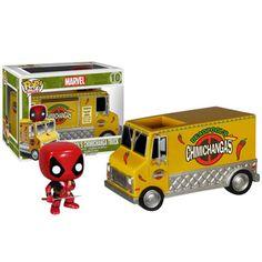 Pop Vinyl Deadpool Chimichanga truck!!