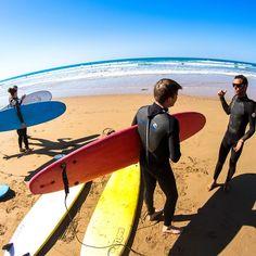 Surfing trip in summer - villa in Agadir