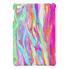 Liquid Color Neon iPad Mini Case