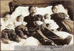 The murdered Parsons family, 1906, Tx. Taken from the Burns Archive. Murdered by Joseph (Jodie) Hamilton.  For those who want to know the whole story follow this link. http://thelibrary.org/lochist/periodicals/bittersweet/sp78j.htm