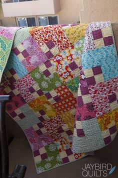 Skip the Borders - Blog Book Tour, Day 3 | Jaybird Quilts