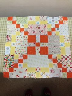 Snippets of a Quilter: APQ Scrappy Sew Along-- one of Wendy's blocks. So pretty!
