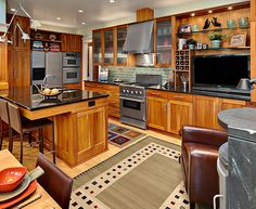 asid Buettner transitional kitchen after remodel
