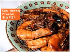 Wok Fried Kam Heong Prawns 干香明虾 http://budgetpantry.com/kam-heong-prawns/
