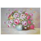 Found it at Wayfair - Hand Painted Peonies on Display Original Painting on Canvas