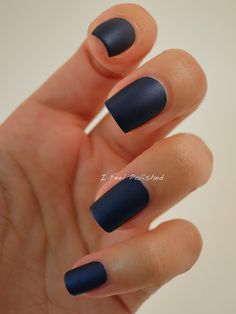 Sailor, Blue Mattes Collection. Matte nailpolish