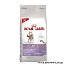 Royal Canin Sterilised Appetite Control Cat Food 2kg Royal Canin Sterilised Appetite Control is a balanced complete feed for neutered adult cats that need their weight managed more effectively or have a tendency to beg for food