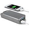 This is awesome cuz you don't need electricity to charge this external battery.. if it works well this is much better than mophie!!!