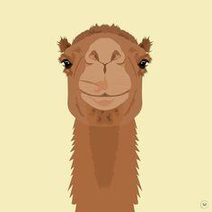 Dromedary #illustration #illustrationoftheday #illustrationwork #dessin #dessindujour #drawing #color #couleurs #illustrator #dromadaire #dromedary #animal #animaux #virginiebpics @virginieb.pics http://ift.tt/2lbEuXx