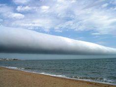Roll Cloud, Las Olas Beach, Uruguay | Photograph by Daniela Mirner Eberl