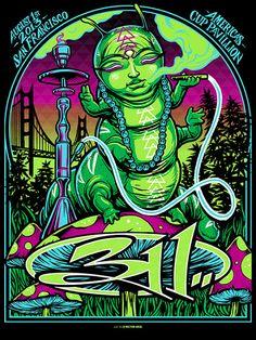 311 Munk One San Francisco Poster Release Details