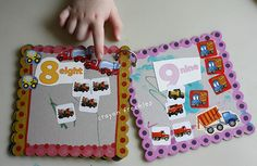 chipboard number book #crayonfreckles