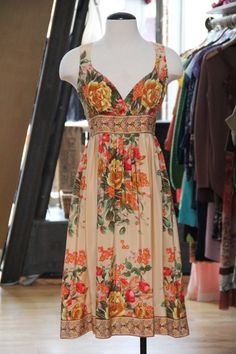 Plenty by Tracy Reese, sweet print & gorgeous silk