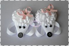 Hey, I found this really awesome Etsy listing at http://www.etsy.com/listing/110950671/set-of-two-poodle-loopy-puff-bows-m2mg
