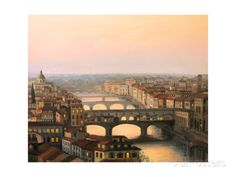 Florence Ponte Vecchio Posters by kirilstanchev at AllPosters.com