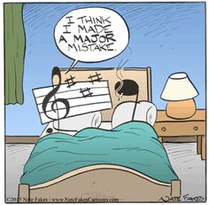 Music Humor | Created by Nate Fakes | Break of Day | Go Comics #music_puns