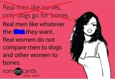Skinny Girl Problems...ecard..true just stop comparisons