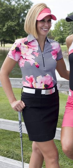 Cabernet JoFit Ladies & Plus Size Golf Outfit available at #lorisgolfshoppe