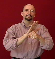 """promise"" ASL American Sign Language"