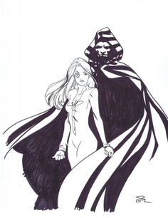Cloak & Dagger by Joshua Middleton