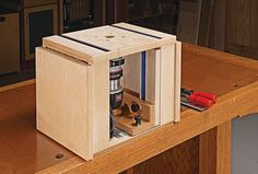Build a router table with these free downloadable diy plans free this portable router table packs in keyboard keysfo Image collections