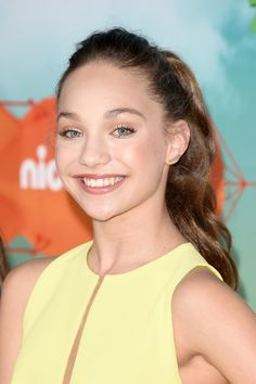 Maddie Ziegler Looked SO Different at Her First Kids' Choice Awards