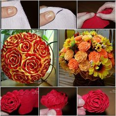How to Make Beautiful Crepe Paper Flower Bouquet