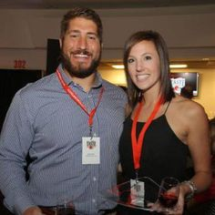 Alyssa Ropes Mack is the wife of NFL player Alex Mack. He is a center player for the Atlanta Falcons who previously played for the Cleveland Browns.