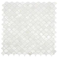 Our beautiful Mother of Pearl tile in iridescence white and natural tones is on a mesh backing for easy installations in many applications.  	 This durable and luxurious product is sure to enhance almost any space in your home or office!  	 Usage:  	 Walls, backsplashes, kitchen, fireplace etc. Should not be used in applications submerged in water.  	 Details:  	 Sheet Backing: Mesh 	 Sheet Dimensions: Approx 12 x 12 	 Coverage Size: 1 sq. ft. 	 Chip Size: Approx 1 	 Thickness: 2mm  	 Fin...