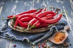 """Diaporama """"Les 10 aliments les plus faibles en calories"""" - Le piment chili"""
