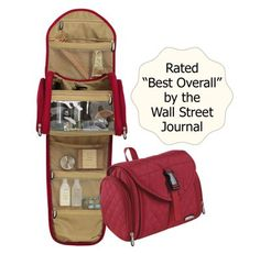 TravelSmith Medium Quilted Toiletry Travel Kit