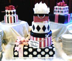 $25. #gift box cakes    Like, repin, share!  Thanks!    Visit http://15sphere.com/