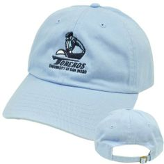 NCAA USD San Diego Toreros Slouched Relaxed Fit Top of World Licensed Hat Cap by Top of the World. $12.99. Official Licensed Product. Brand New Item with Tags. Sun Buckle. Adjustable. 100% Cotton. Team mascot and logo embroidered on front panel. Relaxed, slouch fit. Adjustable sun buckle closure. Authentic Top of the World merchandise. Officially Licensed Collegiate Product.. Save 48%!