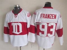 NHL Detroit Red Wings #93 Franzen White Winter Classic Jersey