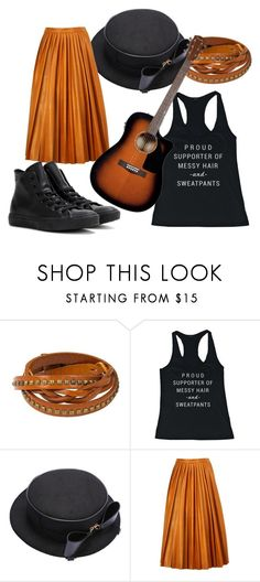 """""""Proud Supporter"""" by geekygal2003 ❤ liked on Polyvore featuring NOVICA, By Malene Birger, Converse, women's clothing, women, female, woman, misses and juniors"""