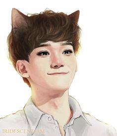 Kitty Chen!! <3   EXO Fanart
