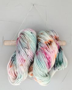 Dyed to Order - Hand Dyed Yarn - Sock Bulky DK Worsted Speckled Superwash Merino Wool {hand roll} by dyedinthewoolyarnco on Etsy https://www.etsy.com/listing/265035292/dyed-to-order-hand-dyed-yarn-sock-bulky