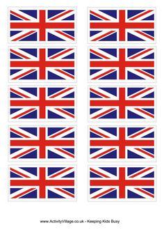 United Kingdom flag printable