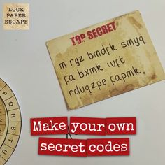 Escape Room Diy, Escape Room For Kids, Escape Room Puzzles, Escape Room Themes, Spy Party, Party Games, Treasure Hunt Games, Clues For Treasure Hunt, Ciphers And Codes
