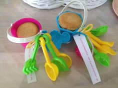 Measuring Spoons, Party Gifts, Kids Meals, Crafts For Kids, Treats, Birthday, Creative, Food, Parties