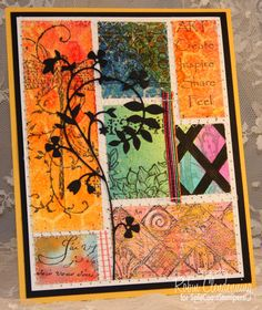 MIX PATCHWORK by Stamperrobin - Cards and Paper Crafts at Splitcoaststampers