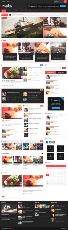 Retina Magazine WordPress Theme - Agazine - WP Mustache Templates