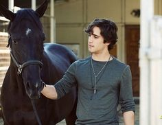 Diego Boneta- totally crushing on a younger guy!  Rock of Ages star is too freakin cute!! and he loves horses sigh...