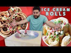 HAZ TU MÁQUINA DE ICE CREAM ROLLS | EL GUZII - YouTube