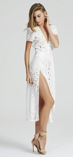SOMEBODY TO LOVE DRESS SEASHELL by Alice McCALL