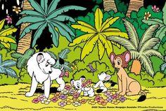 Kimba The White Lion, Leo Lion, Lion Art, Classic Cartoons, Pulp Art, Nostalgia, Snoopy, Japanese, Manga
