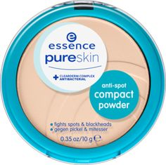 pure skin anti-spot compact powder 01 beige - essence cosmetics