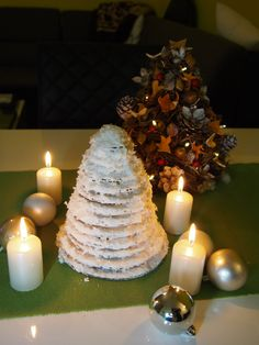 handmade christmas trees :)