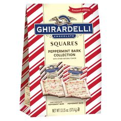 Ghirardelli Peppermint Bark XL Squares Bag 13.15oz.